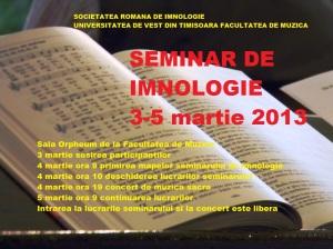 seminar imnologie 2013