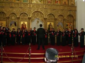 2.Corul ,,Arhanghelii'' din Orastie, dirijor Ioan Marius Popa