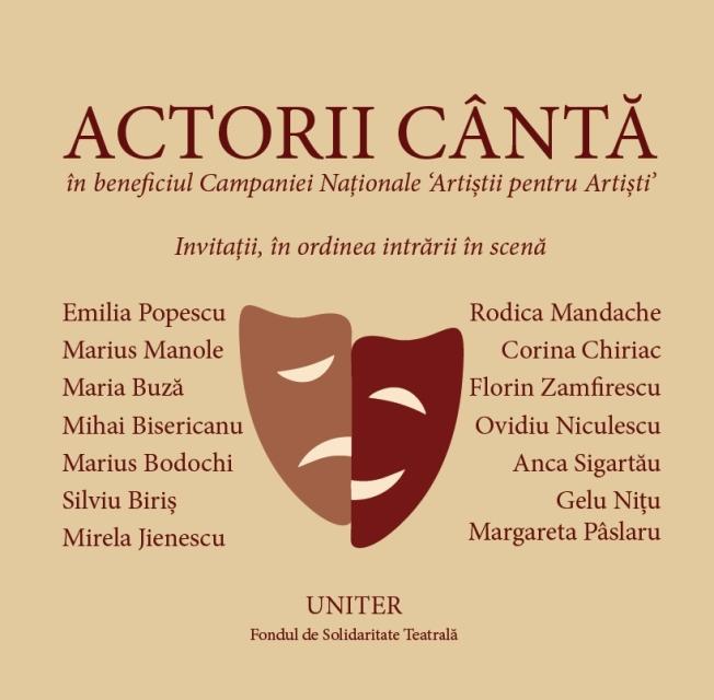 CD 'Actorii canta'
