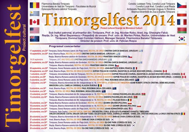Afis Timorgelfest 2014
