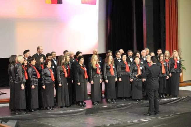 9.Corul Arhanghelii in concurs la Praga