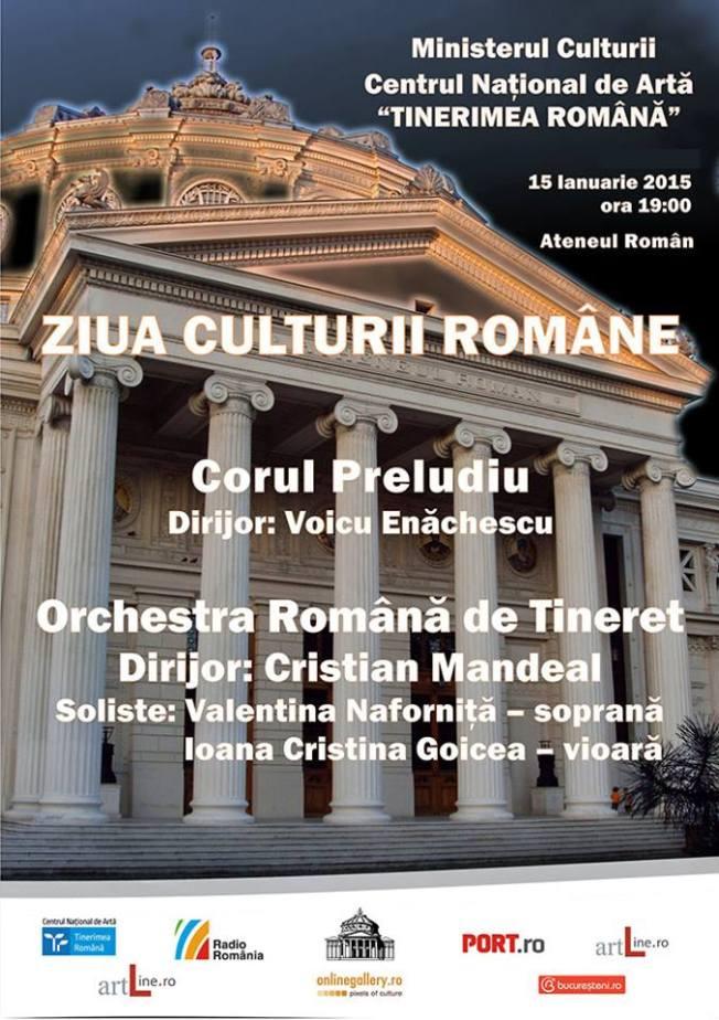15 ianuarie - Concert Preludiu