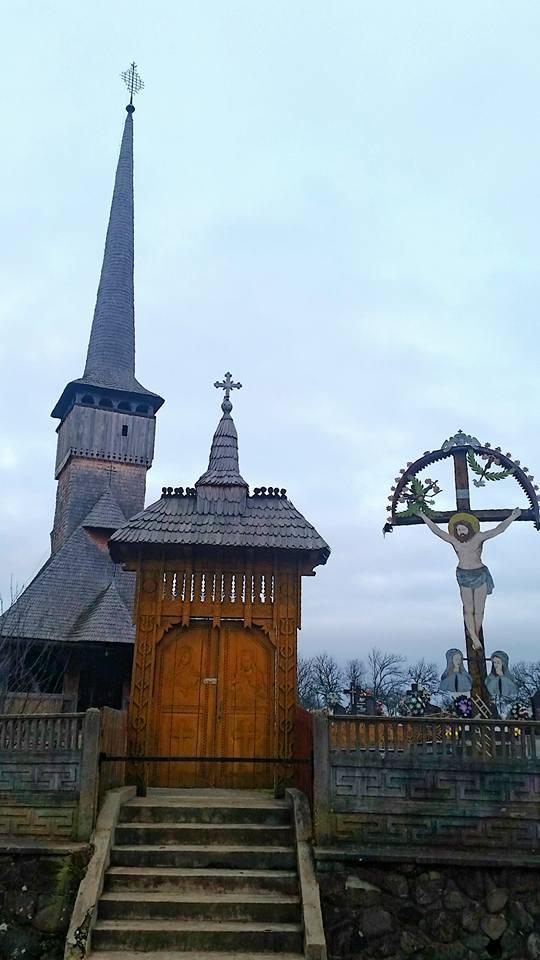 1.Biserica lemn Posta